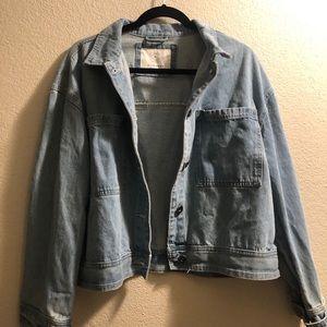Oversized Denim Jacket | Cotton:On